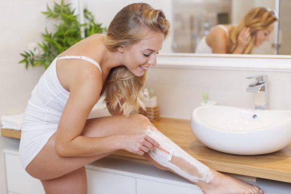 Stearic Acid có trong kem tẩy lông sẽ giúp quá trình tẩy lông diễn ra nhẹ nhàng và không đau đớn