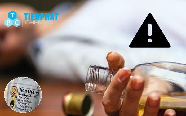Tại sao Methanol độc